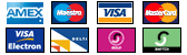 We accept all major credit cards and debit cards